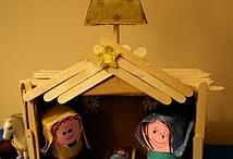Thema:kerststalletjes / by Juf Ria