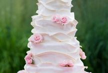 Cakes: Pink Wedding / NOT my work. Just gorgeous cakes I love. / by Sheena House