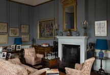 Lord Harewood's Sitting Room / Exhibiting a personal collection of 20th Century art of Lord Harewood, this collection is varied set of sculpture and painting set in the beautiful Georgian stately home, Harewood House, Yorkshire. / by Harewood House