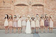 BRIDESMAID DRESSES / Bridesmaid dresses / by Emmaline Bride | Handmade Wedding Blog