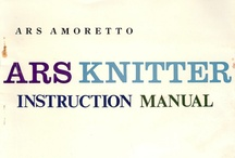 ARS Knitting Machine Manuals and photos / by Vintage Knitting