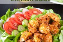 Salads / by Lonna Dickey