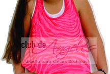VERANO 2015 discontinuos / Remeras y vestidos para nenas / by Club de Angeles
