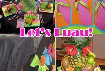 Luau Ideas / by Wyndi Debes