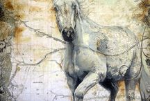 Horse paintings / by Lorrie Maurhoff