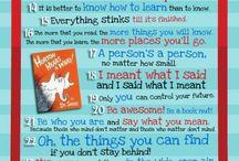 Love Dr. Seuss!! / by Amanda Hurt