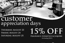 Customer Appreciation Days / by Duty Free