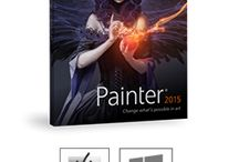 Painter 2015 / New Corel Painter 2015  - Change what's possible in art! / by CorelPainter