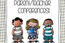 Parent teacher conferences / by Emily Hutfles