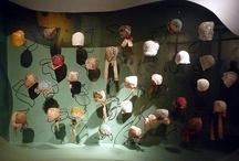 Hat display ideas / by Kookooshka