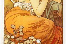 Alphonse Mucha / by Rebecca Huston