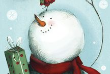 CHRISTmas Snowman love / by Lorie Roberts Bledsoe
