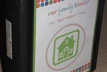 Binder Ideas / by Tina Conrad