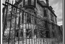 Haunted houses/haunted places / by Steve koepke