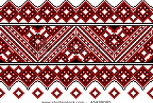 Ukrainian embroidery / Hand made / by Macan Rosabal