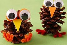 "Craft Ideas for Thanksgiving / Turkeys, turkeys and more turkeys! Fall is my favorite season and I love all the cute decorations for Thanksgiving. This board will showcase craft ideas for Thanksgiving to do with your children. (Want to learn more about my ministry, ""The Scripture Lady""? Then go to www.scripturelady.com) / by Scripture Lady - Kathy Vincent"