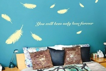 Wall Sticker  / by Fiona Lee