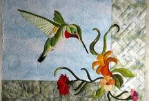 Hummingbird Quilt Ideas / by Mel Beach
