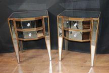 Mirrored Bedroom Furniture / by Canonbury Antiques