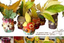 craft AUTUMN / craft AUTUMN  for kids / by Кrокотак