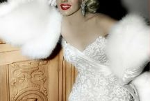 Marilyn: Colorized Or Color Enhanced Or Photographic Enhancements / by Ali LeFevre