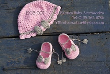 Baby crochet accessories / by Amera Yosri