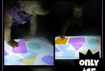Sensory: Light Box Play / by Country Fun Child Care