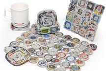 Materiales reciclados / by Elara .