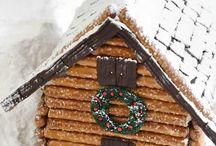 GINGERBREAD HOUSES / by Darlene Greg