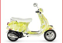 Ride Colorfully / Pin to Win Contest with Vespa / by Ashley Szeremet