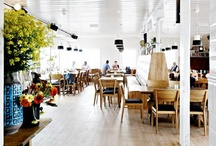 inspiring cafes / Since cafe design is my business, I am always looking for inspiration... / by Heidi Cron : Interior Designer