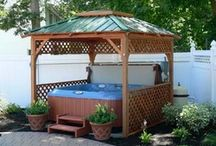 hot tub ideas / by Betty Gentry