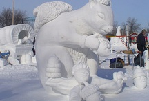 ice and snow sculptures / by Dana Phillips