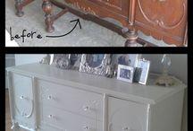 Repurposed furniture / by Terri Gray