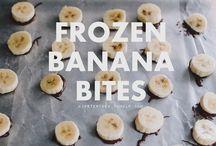 banana bites / by Ashley M. | (never)homemaker
