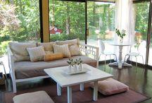 Sunroom  ideas / by Elaine Knight