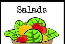 Salads / paleo, gluten-free, and grain-free salad recipes / by Cavegirl Cuisine