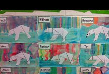 art projects for school themes / by Lisa Pribula