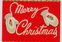 vintage holidays & cards / by Holly Van Ostran