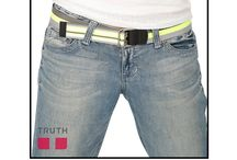 "The Justice Vegan Belt / Intoducing the Justice belt: vegan and reversible! - This belt is two belts in one, working well with casual pants with jeans. The word ""Justice"" is written on the tip, which acts as a reminder to stay true to your self. $38.00 / by Truth Belts - Vegan Fashion"
