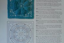 DIY - Crochet Mood Blanket 2014 / patterns for my #crochetmoodblanket2014 / by Andi Gould