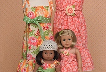 American Girl Craziness (Yep, 2nd time around) / Patterns and accessories for the granddaughters!! / by Diana Fisher