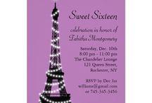 Maya's Purple Paris birthday party / by Cassandra Avery