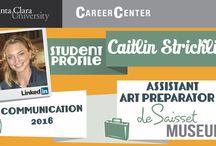 Student Internship Profiles / by SCU Career Center