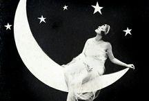 Only a paper moon... / by Nancy Simons Matthews