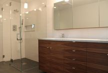 Bathroom update / Bathroom renovation / by Ashley Kline