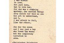 Poetry / by Christina Nystrom-Kolby