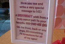 1st Birthday Ideas / by Veronique Baughman
