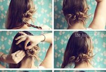 Hairstyle / by Elzbieta M