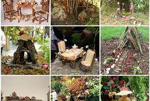 fairy garden ideas / by Tammy Poolton